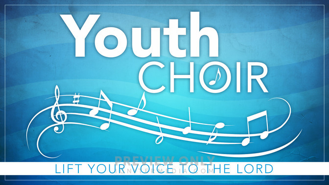 Youth Choir - Title Graphics | Igniter Media