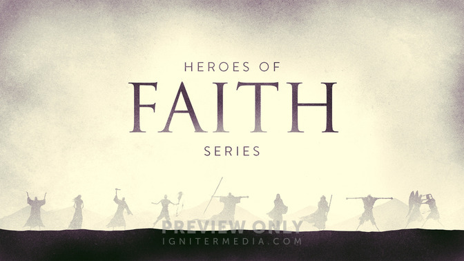 Heroes Of Faith Title Graphics Igniter Media
