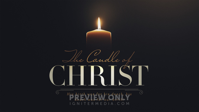 advent candles the candle of christ title graphics. Black Bedroom Furniture Sets. Home Design Ideas